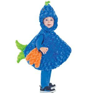NEW Underwraps Toddler's Big Mouth Fish Costume